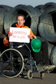 Disabled Construction Worker In Need Of Job